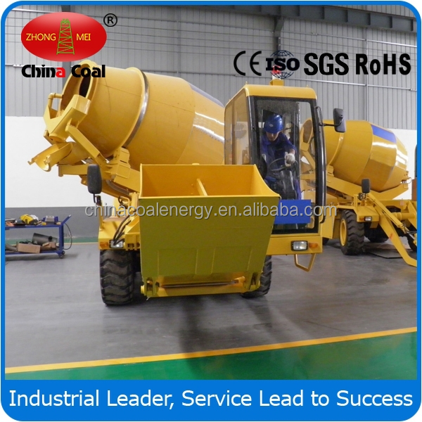 High Efficiency China Coal Group FM3.5-3 Mobile Concrete Mixing Station