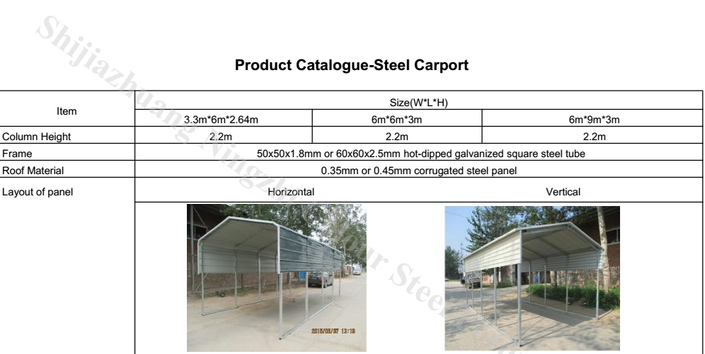 Steel Car Shelter,Portable Car Cover,Car Port - Buy Steel Car ...