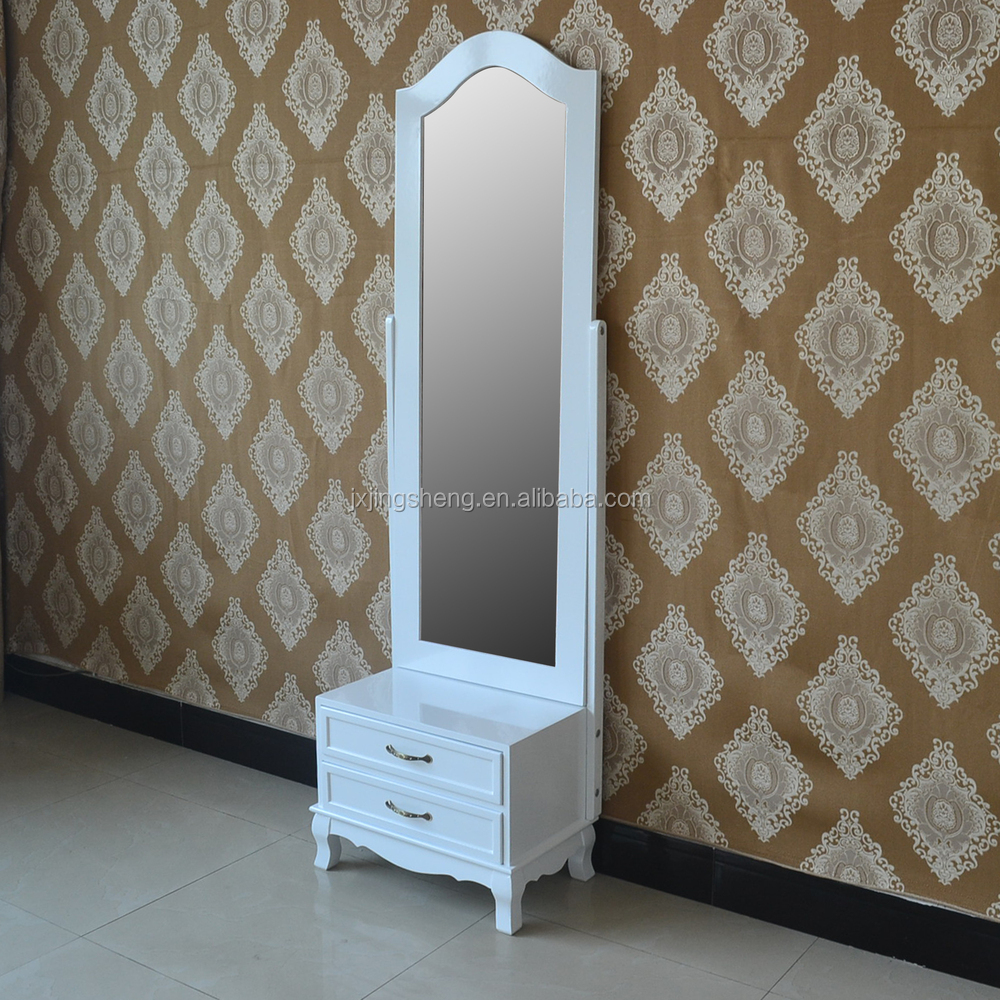 Shabby Chic Décor À La Maison Moderne Pas Cher Chambre Meubles En Bois  Miroir Sur Pied - Buy Miroir Debout Product on Alibaba.com