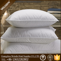 Manufacturer best selling inflatable pillow book/high quality hotel down feather pillows