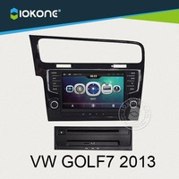 Factory supplier auto part Built-in TV tuner car GPS with radio for VW GOLF7 2013