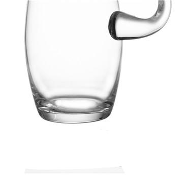 Clear Hand blown Globe วิสกี้ขวดเหล้าแก้วขนาดใหญ่