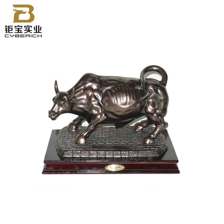 Prodotti caldi 3d Animale Toro Figurine Living Room Decor