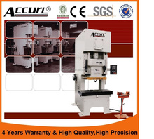 ACCURL C frame Mechanical Punch Press 60 ton/Punch Press Machine JH21-60T for Mini Punch Press