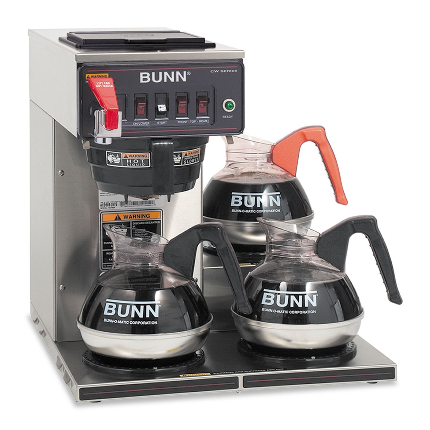 CWTF Automatic Coffee Maker Brewing Capacity: 3.9 gal./hr. (120 V), Type: Plastic Funnel (attached cord)