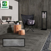 wholesale deep wood grain 200x1000 modern wall wood tiles exterior dark brown wood effect floor tiles