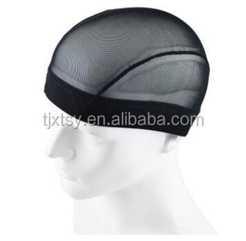 Factory direct sale  Stretch Spandex Dome wig cap, wig caps for making wigs