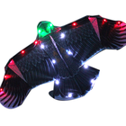 Large LED night eagle bird kite easy flying kite for sale