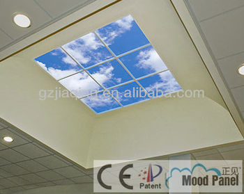 Creative And Refreshing Resting Area Panel Led Blue Sky Ceiling Tile