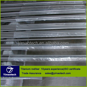 High quality astm f136 titanium bar grade 5 eli