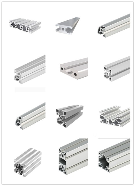 Original factory warehouse desk wall aluminum tube v-slot c-beam profile 4080 Manufacturers cheap
