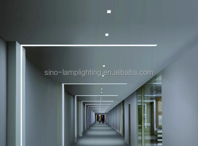 wide u-shape channel aluminum profile for led strip