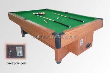 Coin Billiard TableElectronic Auto Ball Return System Pool Table - Electronic pool table