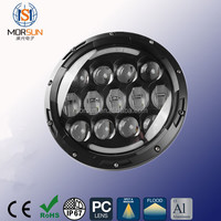 China supplier 7 inch led head light, offroad 4x4 round 90W led driving light for truck offroad mining forest car