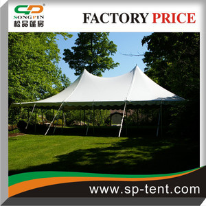 Small century high Peak Tent 7mx12m holding up to 150 seaters row sitting