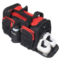 High quality sports shoes storage travel bag fashion 600D polyester duffle bags