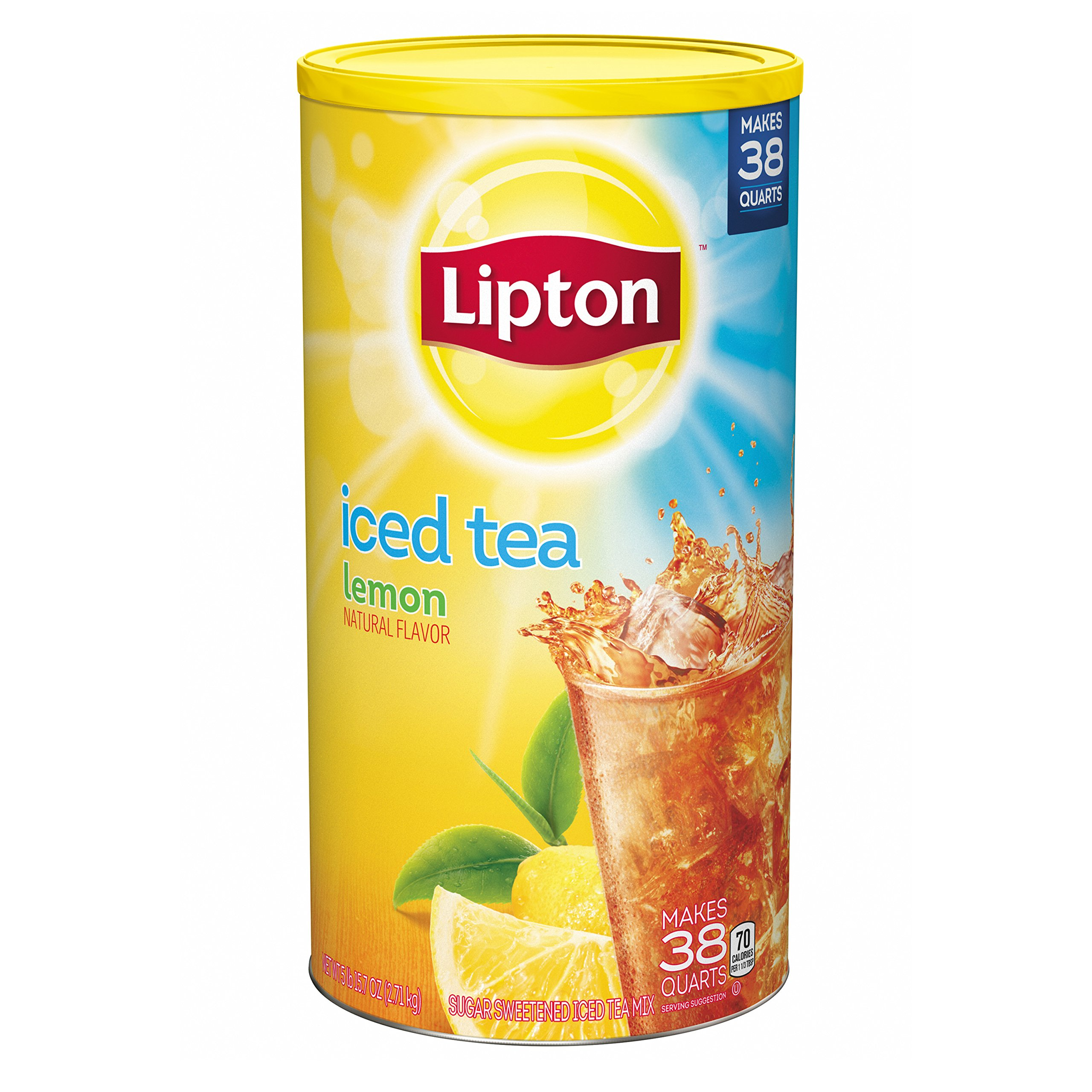 Lipton Iced Tea Mix, Lemon 38 qt