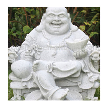 Buying Marble Stone Jade Laughing Buddha Statues From China