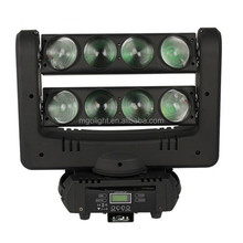 led light bar 8*10w led spider beam rgbw moving head light