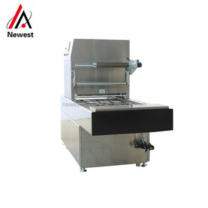 Semi automatic modified atmosphere map tray sealer vacuum packing machine for vegetables meat packaging
