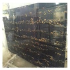 Italy portoro gold marble natural extra stone for wall background