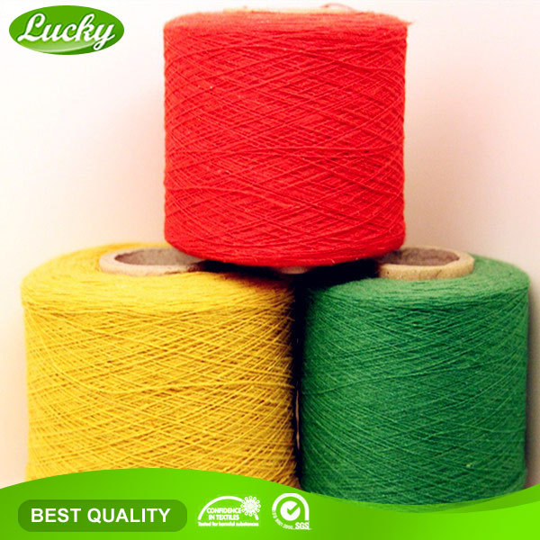 Cnlucky factory good quality napping yarn, color yarn, yarn manufacturer