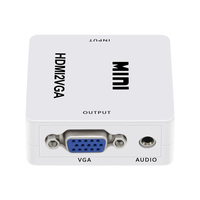 Mini HD 1080P HDMI to VGA Converter Cable Price in India