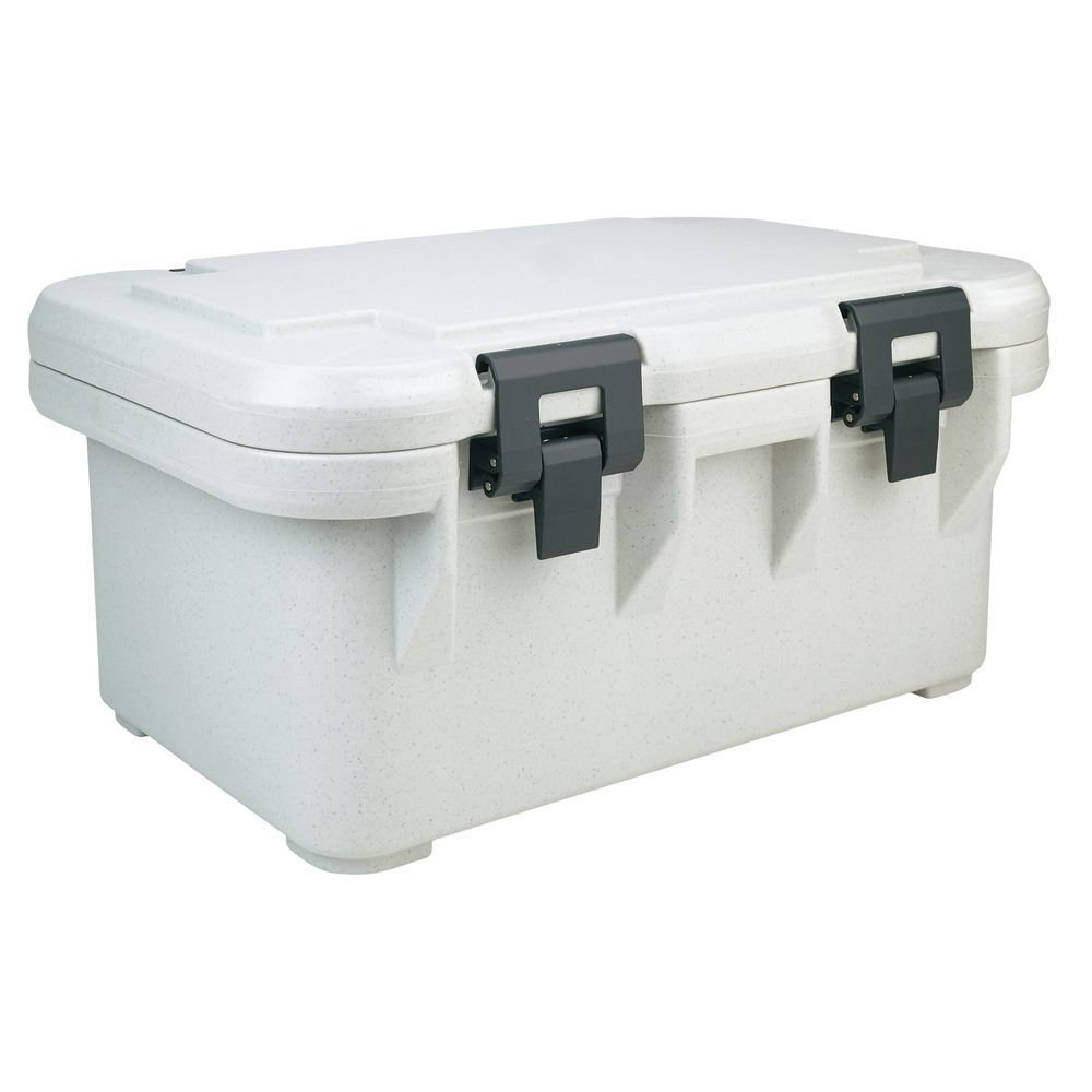 """Cambro Ultra Pan Carrier """"S"""" Series 25 1/8""""L x 17 1/8""""D x 12 1/4H Speckled Gray - HUB-57556"""
