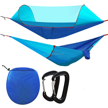 Summer Camping Travel Hammock With Mosquito Net