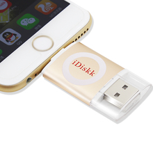 Smartphone OTG USB flash drive, Micro memory stick driver U disk storage card for iphone PC tablet