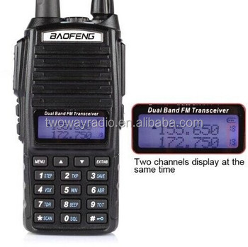 Portable walkie talkie HT handy talky baofeng uv 82
