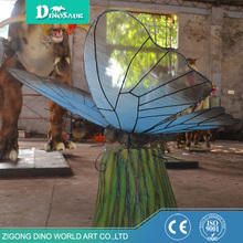 Theme Park Decoration Robots Giant Insects Butterflies