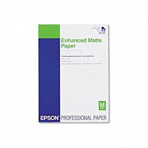 Epson - Matte Paper - A3 11.7 in x 16.5 in - 1 sheets
