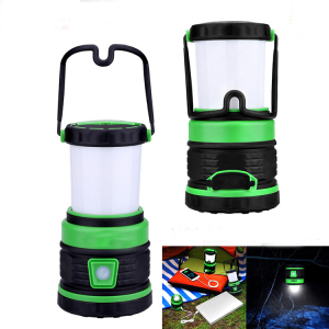 LED Camping Lantern Power Bank Tent Light Emergency Lamp