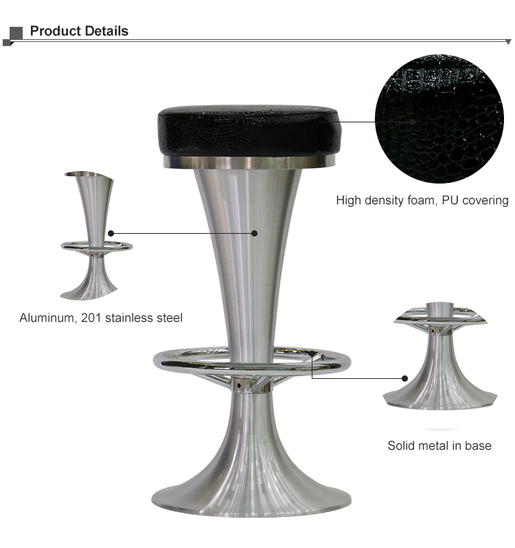 Excellent China Aluminum Pu Seat Leather Bar Stool Buy Pu Seat Bar Stool Aluminum Bar Stool Bar Stool Product On Alibaba Com Creativecarmelina Interior Chair Design Creativecarmelinacom