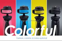 Mini table colorful professional ball head camera smartphone tripod stand