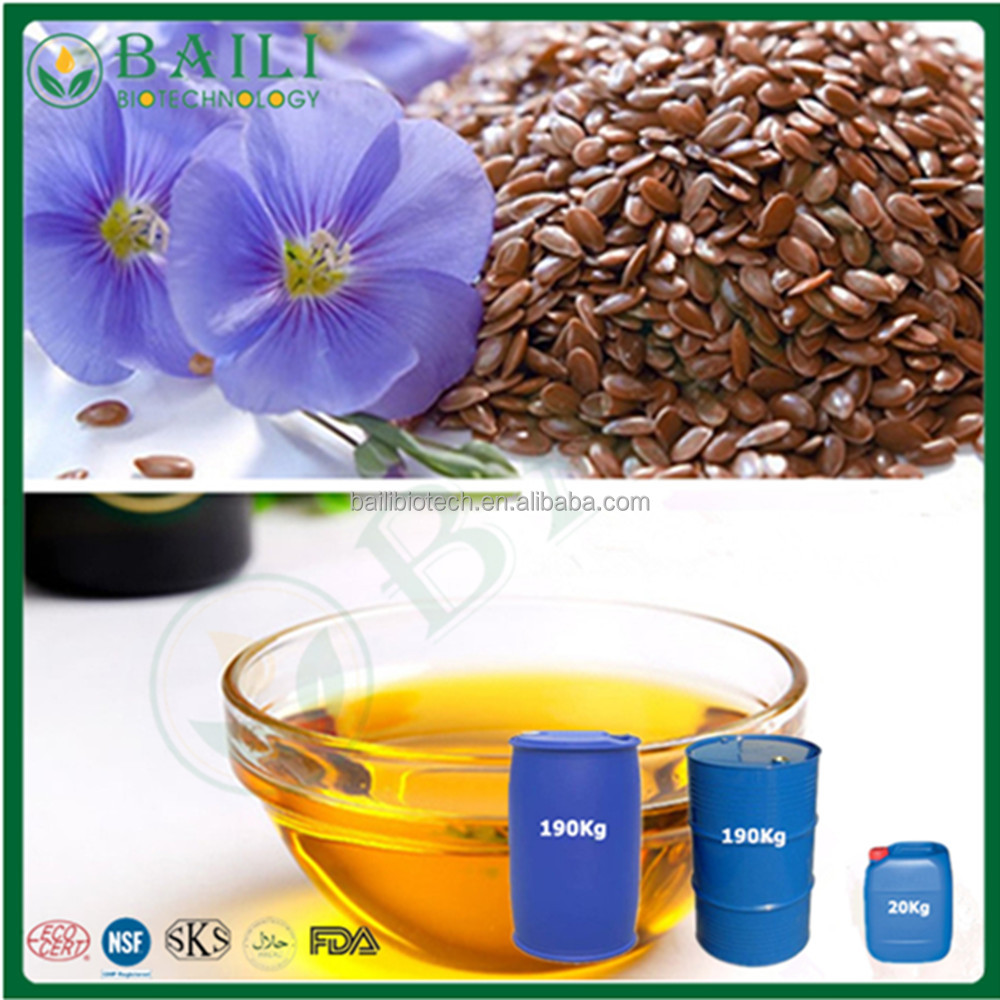 HPLC Flaxseed Oil Best price vegetable oil