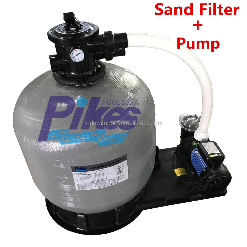 2017 New Swimming pool easy use sea water pool pump sand filter