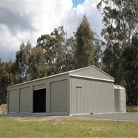 16m x 25m industrial steel structure large metal shorage shed for sale
