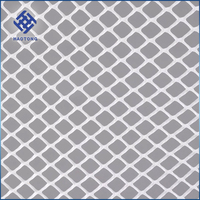 Factory price 1.2m x 200m plastic bi-oriented mole grid net for lawn protection mesh