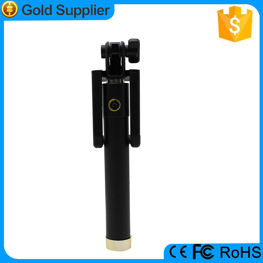 High Quality extendable selfie stick with remote, bluetooth selfie stick monopod