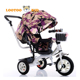 Cheap kids trike with removable umbrella and push bar / plastic white tricycle bike / cheap children tricycle with tailer