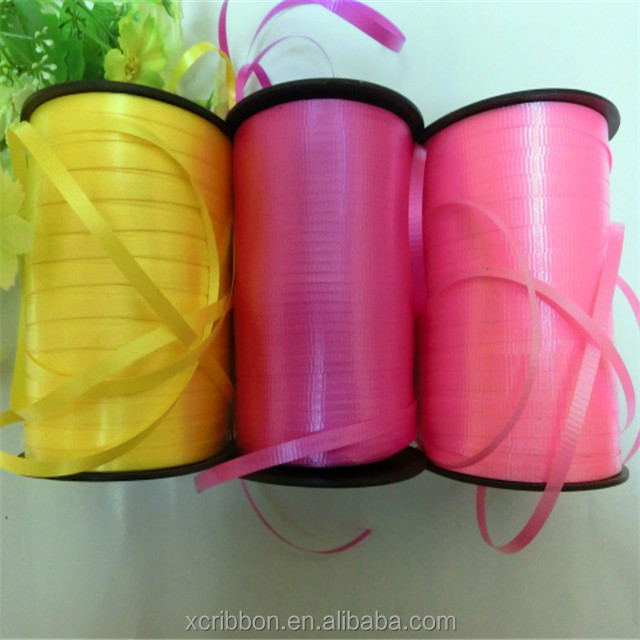 balloon curling plastic crimped ribbon