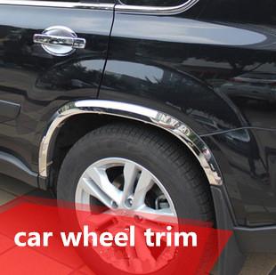 Stainless Steel Car Cover Chromed Trim Oem Cars Wheel Trims