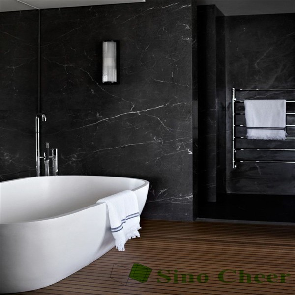 Standard Bathroom Black White Marble Tiles 30x30 Sizes Buy