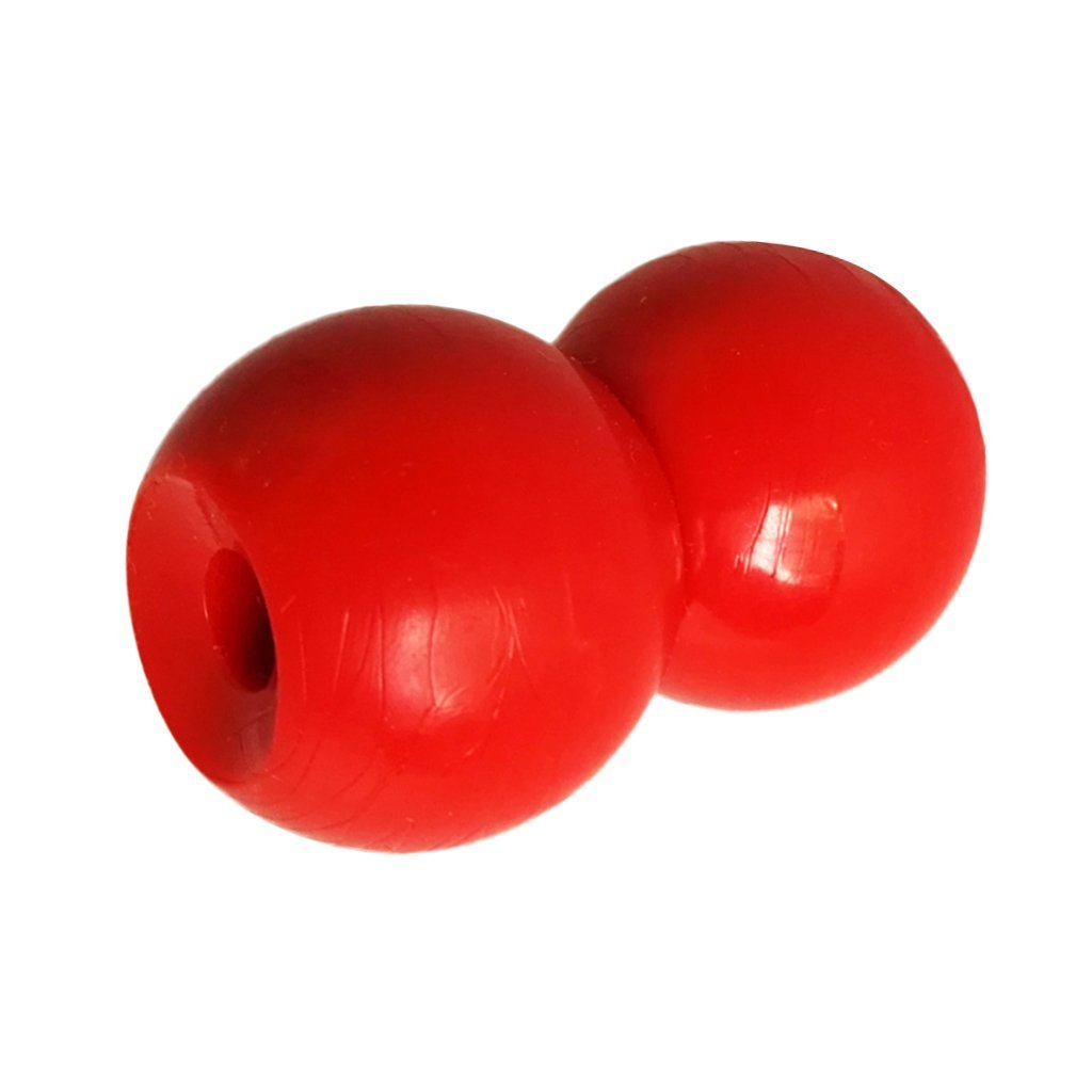 Dovewill 2 Pieces Durable Red Plastic Balls for Marine Boat Kayak Canoe Tail Rudder Control System Kit Accessories