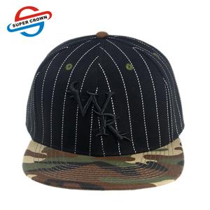 945a6e773164e Embroidered Flat Bill Snapback Hats