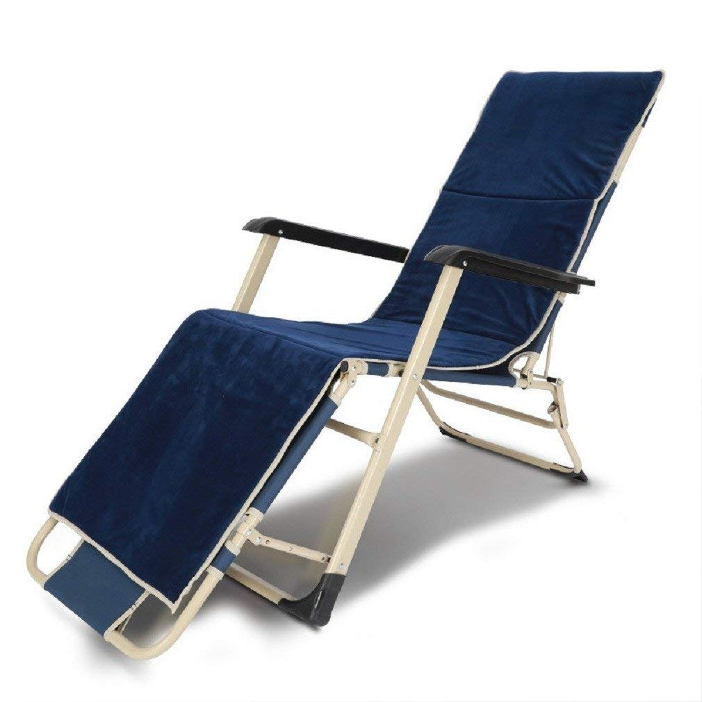 ZLJTYN Lounge Chairs, DECK Chairs, Outdoor Patio Chaise Lounge Chair Folding Recline Medium,A,1 PACK