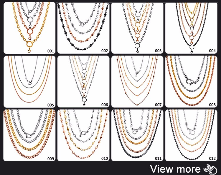 New Products 2018 Innovative Product Dubai Stainless Steel Gold Neck Chain Designs