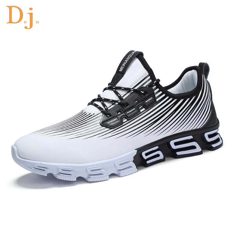 running price waterproof men sneakers China leather synthetic factory HwwzpS